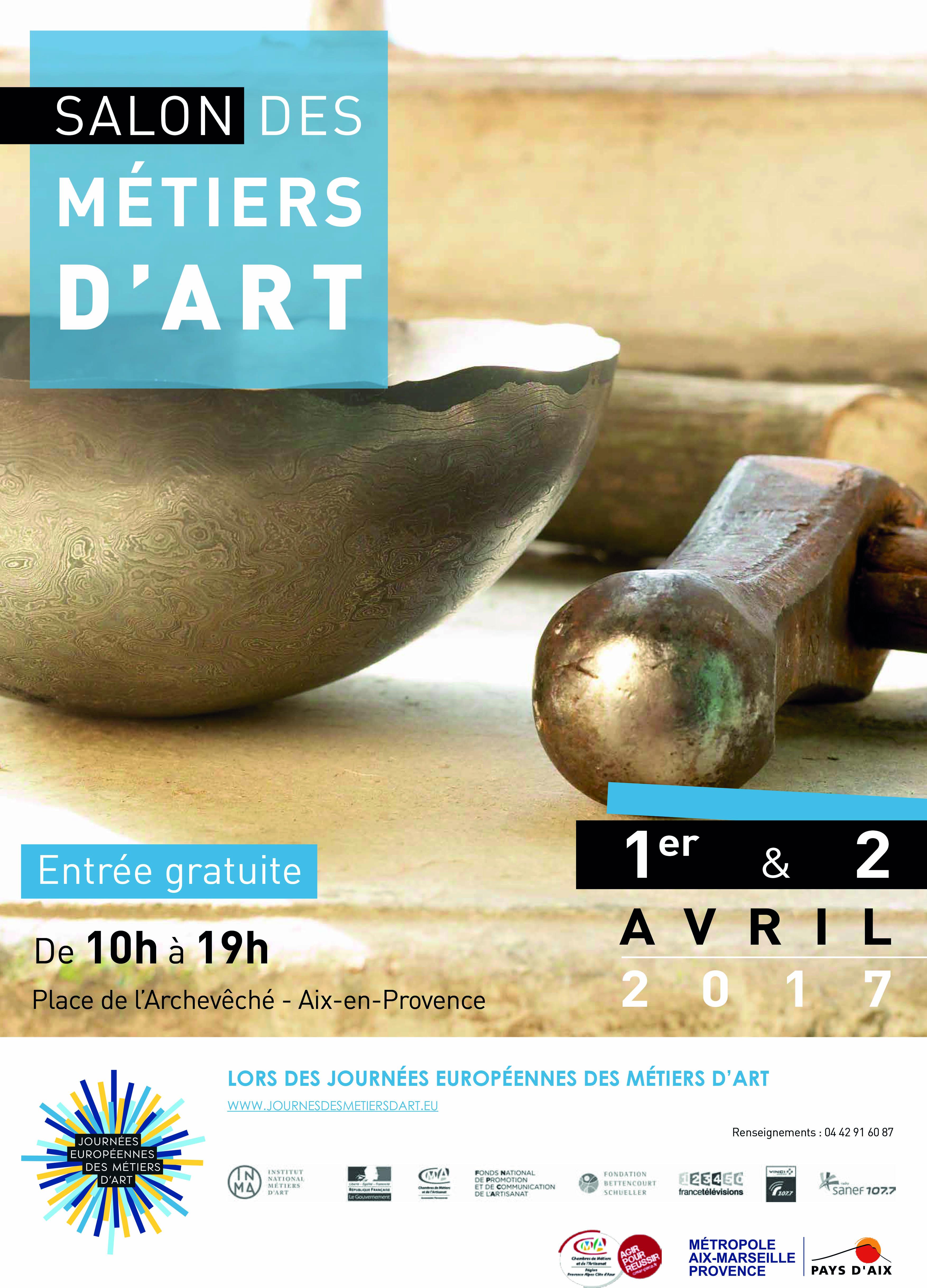 Salon des métiers d'art Aix-en-Provence 2017