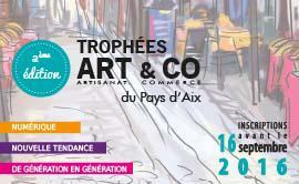 Participez aux Trophées ART&CO du Pays d'Aix