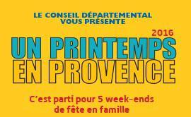 Le Conseil départemental des Bouches-du-Rhône célébre Un printemps en Provence