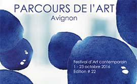 Festival d'art contemporain à Avignon en partenariat avec la CMAR PACA