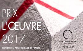 Candidature prix de l'oeuvre 2017