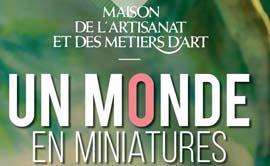 Exposition monde miniature à la mama