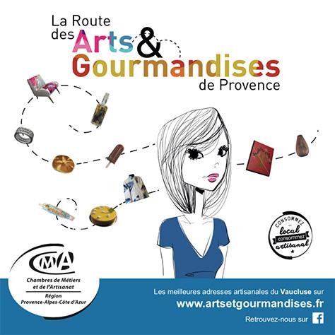 La Route des Arts et des Gourmandises de Provence